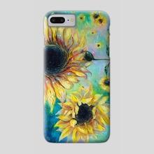 Supermassive Sunflowers - Phone Case by Tanya Shatseva