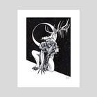 Urban Legend - Art Print by Nakita Melo