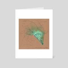 Creature 10 - Art Card by Lena Dick