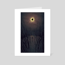 Totality - Art Card by Aimee Cozza