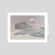 Something weird - Art Card by Carlotta Mura