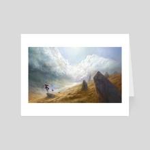 Secret Lake - Art Card by Ludvik SKP