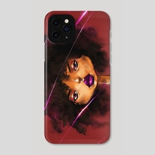 Purple Lips - Phone Case by Don Flores