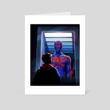 Spiderman 2099: Into the Spiderverse - Art Card by Atharva Jumde