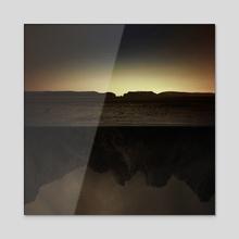 Other Side - Acrylic by Tóth Zoltán
