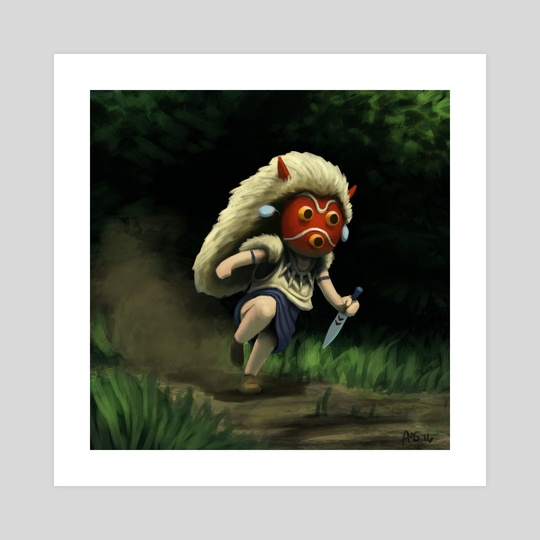 Mini Mononoke by Aric Salyer