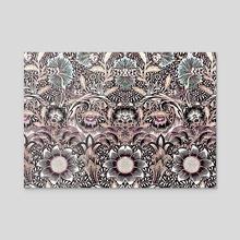 Vintage pattern 63 - Acrylic by Michal Eyal