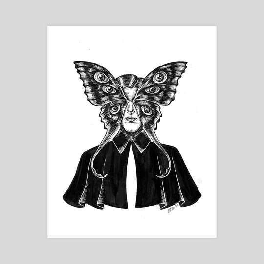 Mothman by Esther  Coonfield