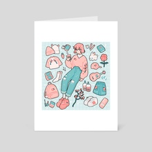 pink - Art Card by fresh_bobatae