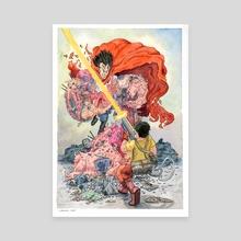 Akira  - Canvas by John Carvajal