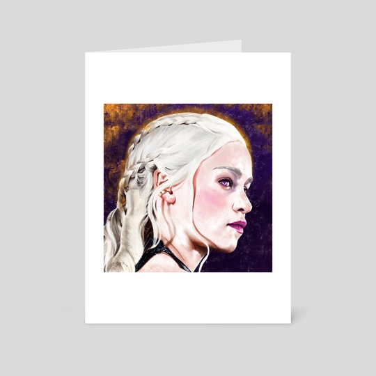 Daenerys by Bryan Fogaça Rosado
