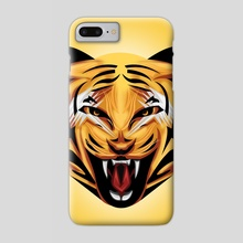 Tora Tiger - Phone Case by Muhammad Sidik