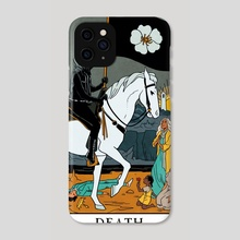 Death - Modern Witch Tarot - Phone Case by Lisa Sterle