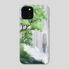 Tree in the Clouds - Phone Case by Trey Tallent