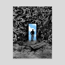 The Optimist - Canvas by rob dobi