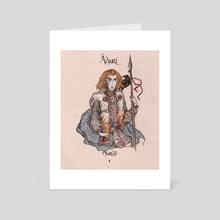 Avari - Nurwe - Art Card by Darina Nossova