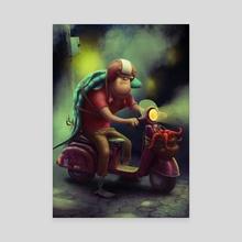 fish - Canvas by Aleksey Baydakov