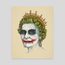 God Save the Villain - Canvas by Enkel Dika