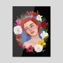 To flourish - Acrylic by Daylen Saenz