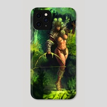 Amazon Warrior - Phone Case by david shearer