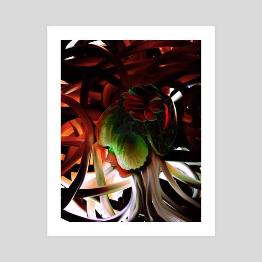 Watermelon Head by Dave Cote
