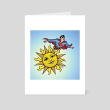 SuperSun - Art Card by Alyssa Spector