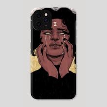 Black Widow - Phone Case by Cedric Joseph