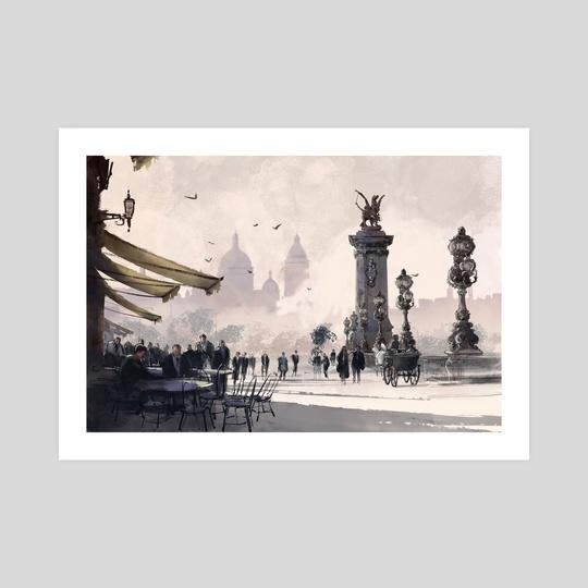 Coffee Shop - Paris by Arte Impressao