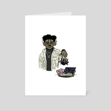 """Lil Uzi - """"Things I'm Done With"""" - Art Card by REENO Studios"""