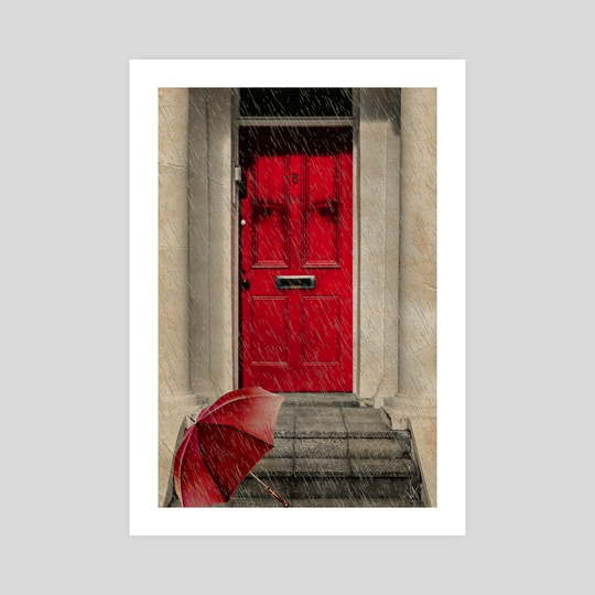 London Door by Valérie KARAKATSANIS