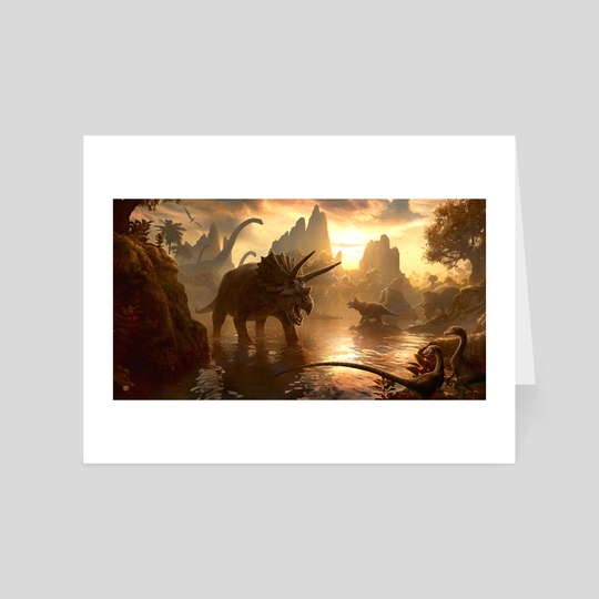 Cretaceous Sunset by Kerem Beyit