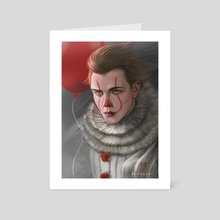 Pennywise Bill - Art Card by Dyana Wang
