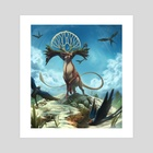The Arrival of Spring - Art Print by Simon Sweetman
