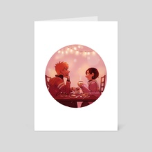Coffeeshop - Art Card by lychee
