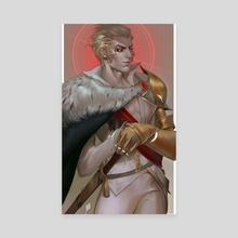 Count Lucio - Canvas by Lizzart