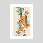 RUN - Art Print by jorts