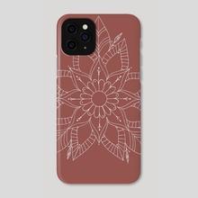 Flower Mandala - Phone Case by Emii Emilova