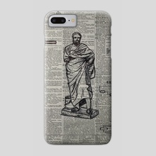 He Thought Himself Wise - Phone Case by Syed Saud