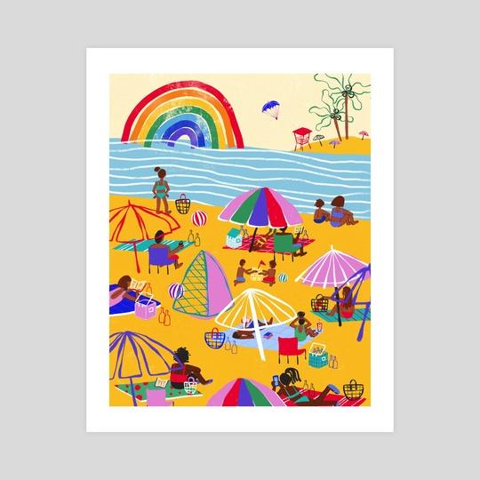 Rainbow Beach by Elyssa Padillo