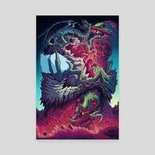 Cosmic Horrors - Canvas by Brock Hofer