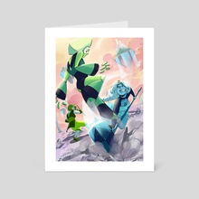 """(Steven Universe) """"Invader"""" - Art Card by Melodie Lapot"""