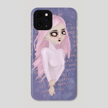 I Hate People - Phone Case by Rouble Rust
