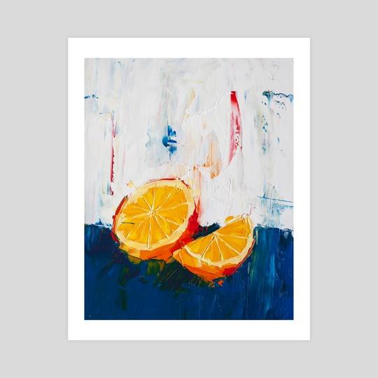 A Simple Orange by Eric Buchmann