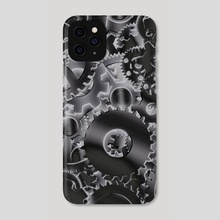 Cog wheels - Phone Case by Bruce Rolff