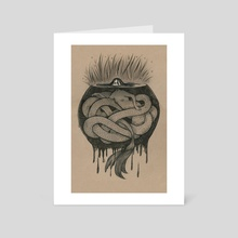 Lurking - Art Card by Alice Holleman