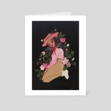 Rose  - Art Card by Jaqon Mckoy