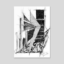 Monochrome vol_2_2 001 - Acrylic by Dana Krystle