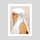 Daenerys - Art Print by Callie Booth