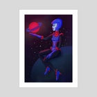 Blue - Art Print by Enis Solis