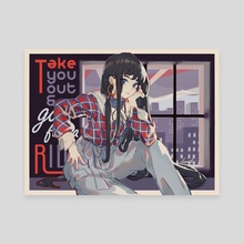 Take you out& go for a RIDE! - Canvas by   lemontea